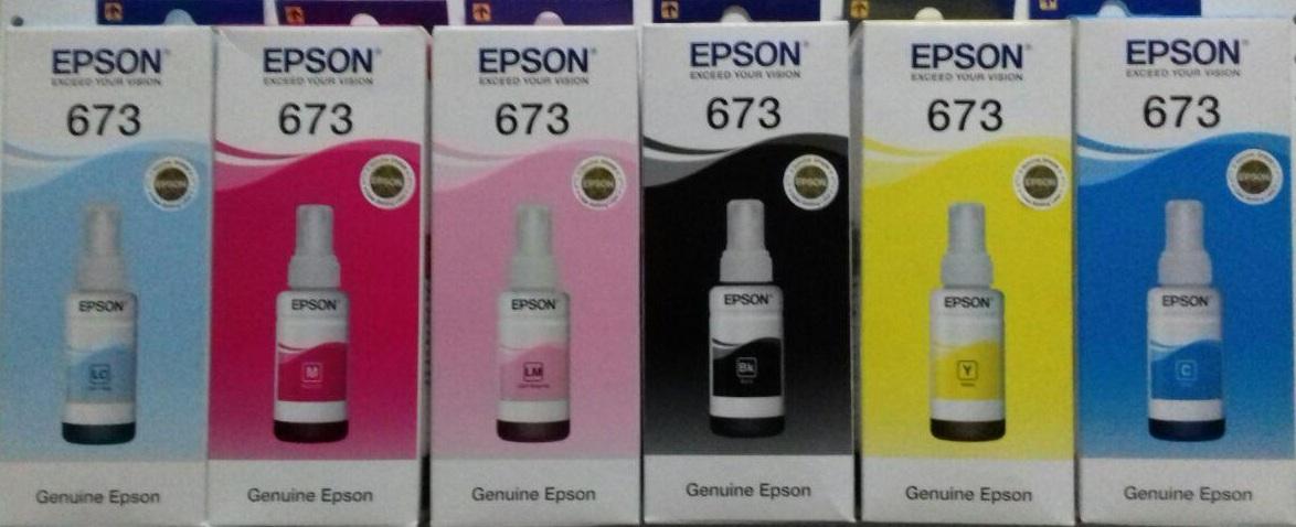 Чернила Epson 673